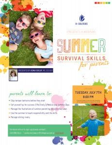 Summer Survival Skills For Parents: Webinar