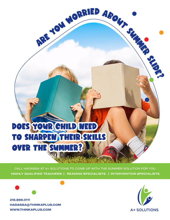 Are You Worried About Summer Slide Flyer